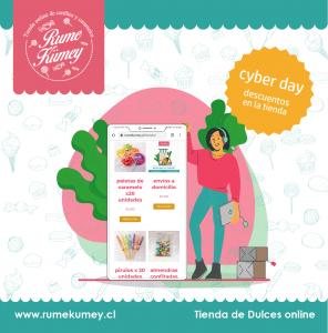 cyber day en dulces